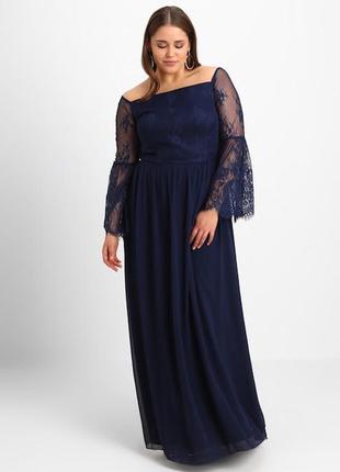 Уценка ! вечернее платье + size