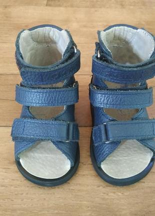 Кожаные ортопедические сандали kena