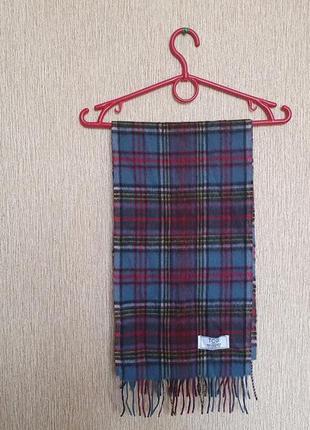Большой шарф из овечьей шерсти от британского бренда tcg london, оригинал