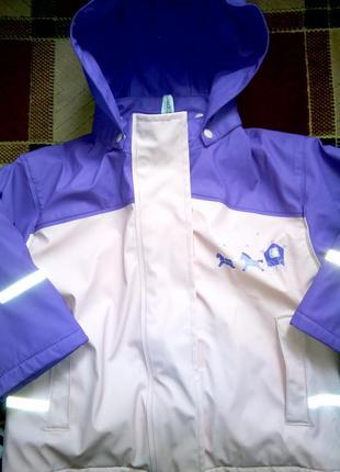 Куртка дощовик 92-98    куртка для девочки дождевик