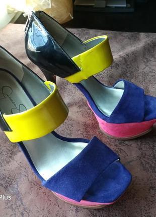 Нарядные туфли с открытыми пальцами
