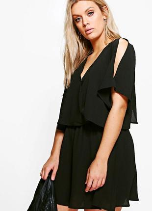 Платье  boohoo с открытыми плечами size+ sale