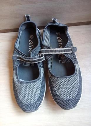 Распродажа! спортивные туфли, летние кроссовки, мокасины, кеды alive, германия, р.35