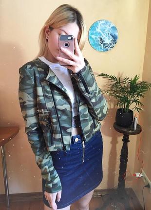 Камуфляжная куртка coolcat girls