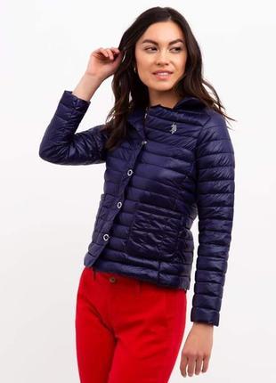 Стёганая куртка u.s. polo assn. размер l.