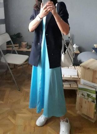 Актуальное платье в бельевом стиле. платье комбинация