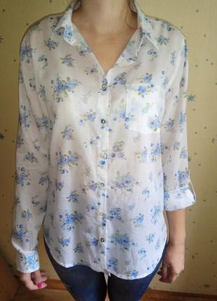 Батистовая цветная блузка colin's
