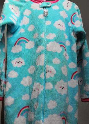 Love to lounge. слип пижама, комбинезон, кигуруми s размер в облака.