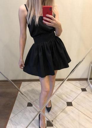 Юбка чёрная/юбка пачка/юбка пышная/юбка красивая