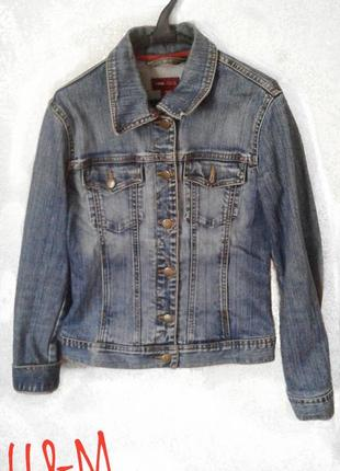 Джинсовая куртка от h&m || возможен торг!!!