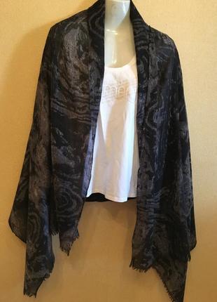 Шерстяной палантин шарф 190/92  pieces