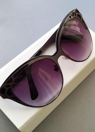 Модные женские очки vip cat eye