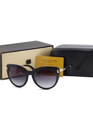 Женские очки-кошки vip от солнца