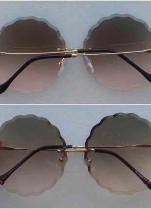Новые стильные очки хрусталики круглые