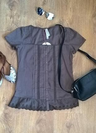Ніжна блузочка з рюшами!!!