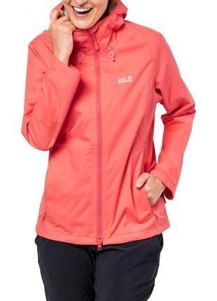 Новая куртка jack wolfskin ветровка женская дождевик xs-s