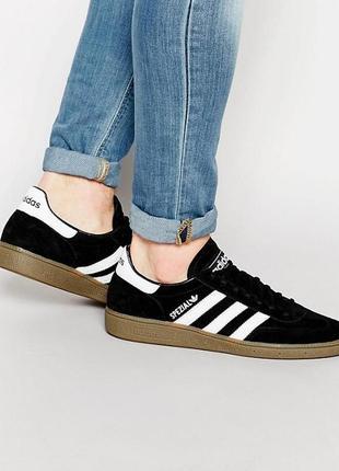 Оригинальные кожаные кроссовки adidas originals spezial 551483
