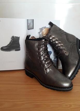 Ботинки кожаные. германия,,caprice,,