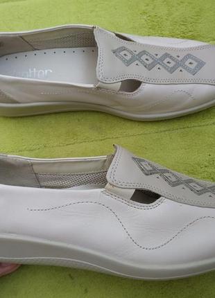 Туфли р.37.5-38 кожа!