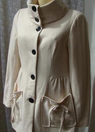 Пальто шерсть вискоза vero moda р.44 №7171