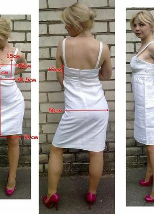 Льняное платье warehouse