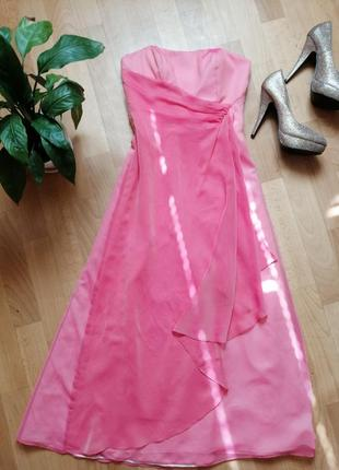 Акция🌹корраловое платье, xs