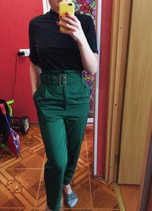 Шикарные брюки {высокая талия}
