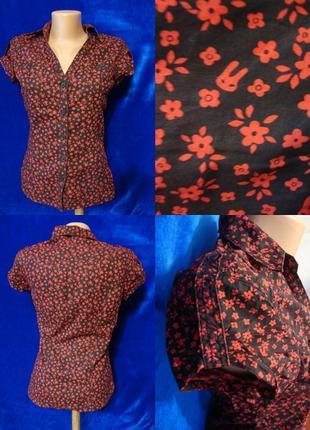 Рубашка с коротким рукавом 44р