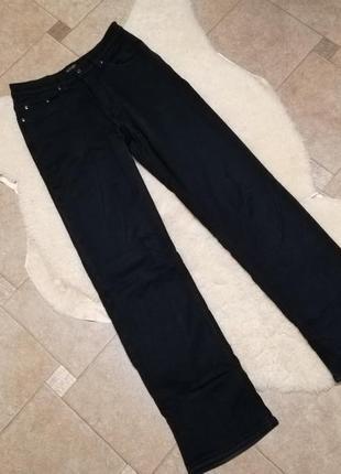 Мужские синие брюки на флисе johnwin р. xl 50-52