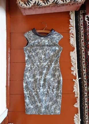 Дизайнерское платье миди l