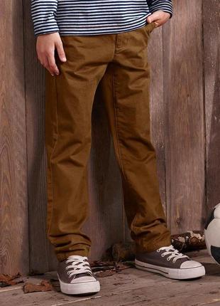 Стильные брюки чино на рост 146-152 от тсм tchibo