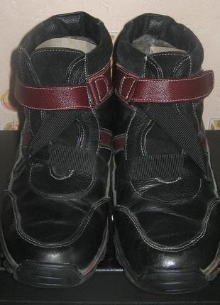 Зимние ботинки тм леомода