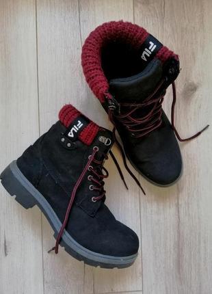 Ботинки fila 39р