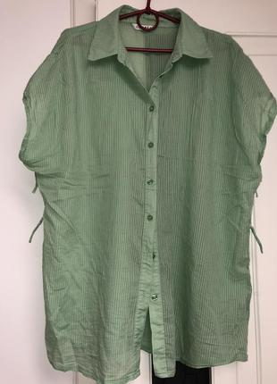Котоновая блуза .блуза