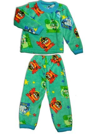 Пижама детская махра