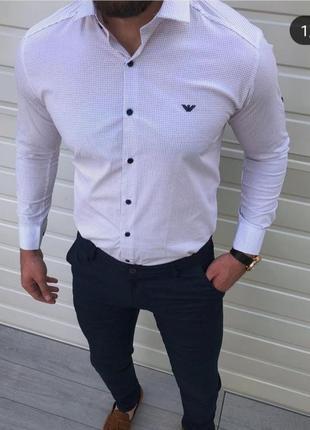 Armani рубашка классика