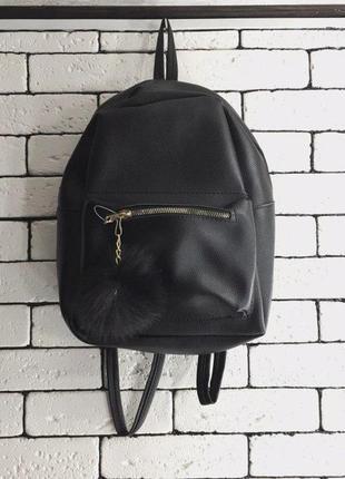 Рюкзак - чёрный,с-57