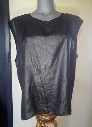 Блуза с напылением,батал/большой размер