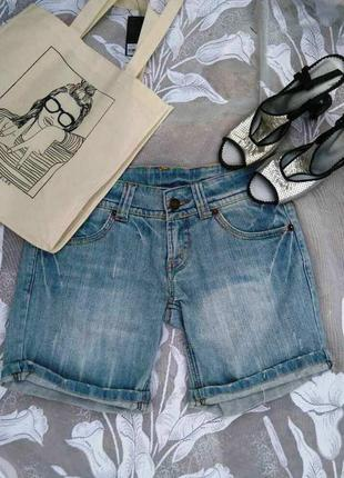 Джинсовые шорты uno