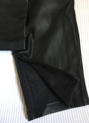 Крутые кожаные брюки3 фото