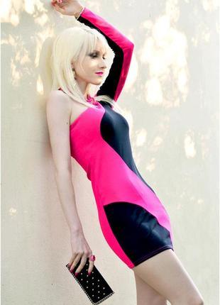 Ассиметричное платье jane norman - цвет, геометрия!