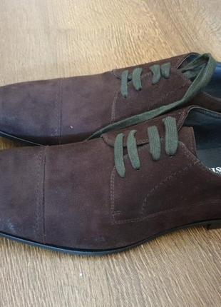 Замшевые туфли black rooster