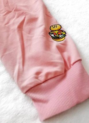 Женское розовое худи, толстовка,  свитшот / жіноче рожеве худі, толстовка, світшот4 фото