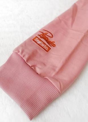 Женское розовое худи, толстовка,  свитшот / жіноче рожеве худі, толстовка, світшот5 фото