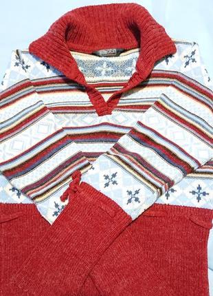 Вязаная ангора, свитер