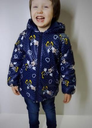Новинка! деми куртки для девочек !!!2 фото
