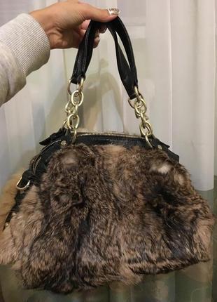 Супер сумочка из натурального меха
