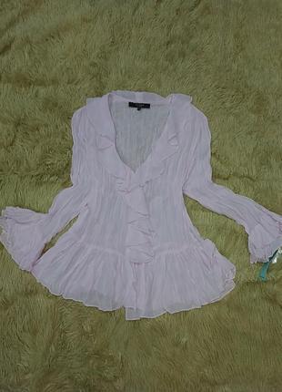 Очаровательная романтичная блузочка из шифона