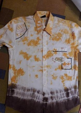 Сочная яркая рубашка турецкого производителя
