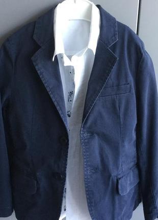 Пиджак для мальчика из хлопка